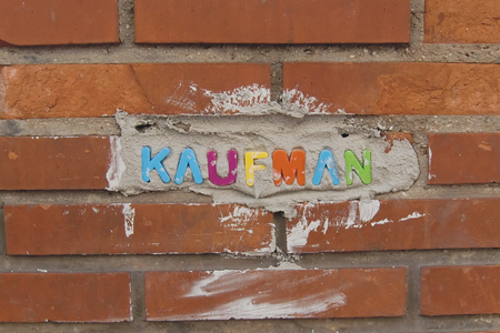 Cement Tag by Kaufman