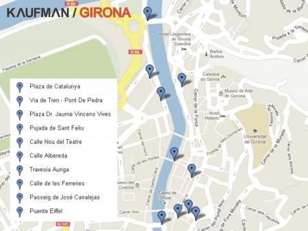 Mapa Intervenciones Kaufman - Milestone Project Girona 2012
