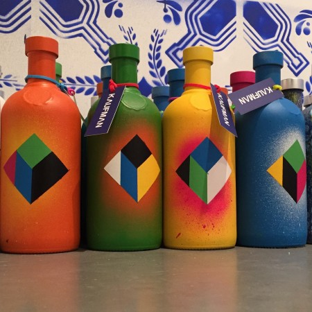 Custom ABSOLUT bottles by KAUFMAN