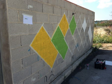 Mural by KAUFMAN 2015 - Step02